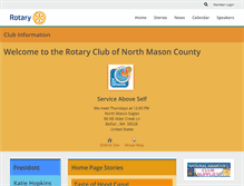 Tablet Preview of northmasonrotary.org